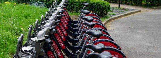 Radfahren im Regent's Park